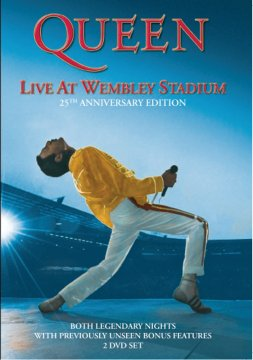 皇后合唱團-Live At Wembley Stadium / 經典溫布里 (25th Anniversary Edition / 2CD+2DVD影音盤)