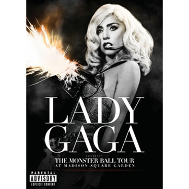 Lady Gaga-The Monster Ball Tour At Madison Square Garden / 超人氣魔神麥迪遜花園廣場演唱會 (DVD)