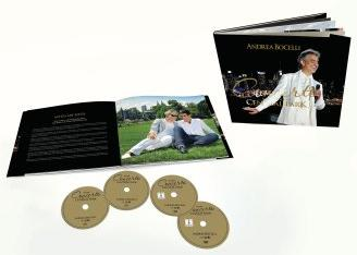 安德烈波伽利-Concerto: One Night In Central Park / 紐約中央公園演唱會 (Super Deluxe Edition / 2CD+2DVD 豪華套裝)