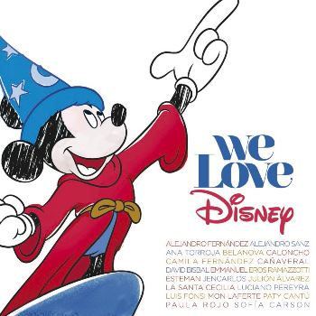 合輯-We Love Disney -Version Latino / 最愛迪士尼 拉丁選 (CD+DVD / CD+DVD影音限量版)