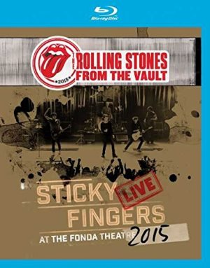 滾石合唱團-Sticky Fingers Live At The Fonda Theatre Blu-ray DVD / 順手牽羊2015洛城演唱會藍光DVD