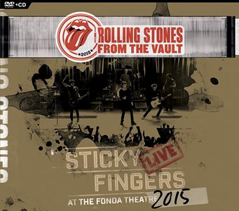 滾石合唱團-Sticky Fingers Live At The Fonda Theatre DVD+CD / 順手牽羊2015洛城演唱會DVD+CD