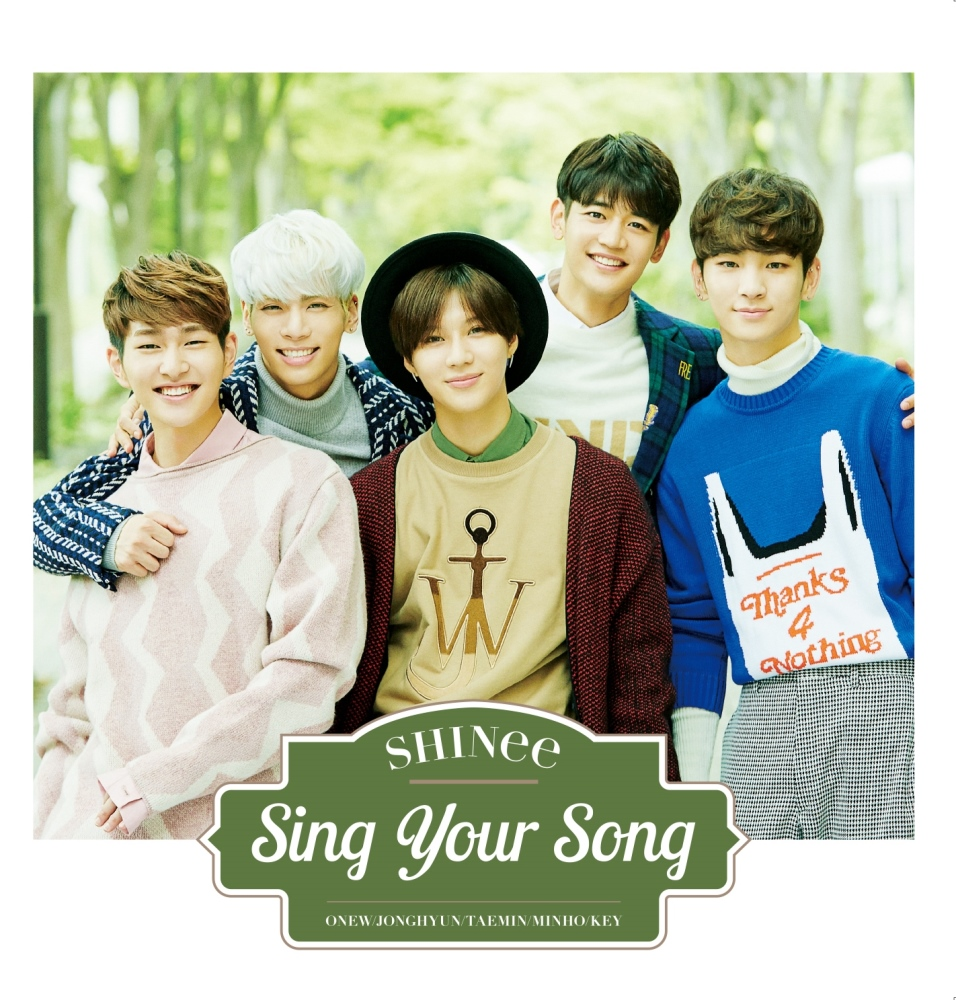SHINee-Sing Your Song