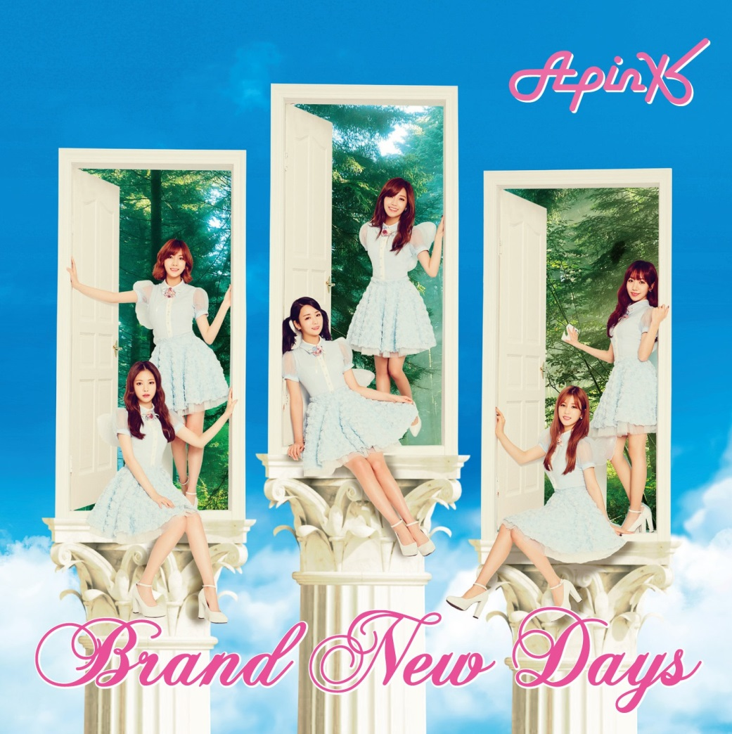 Apink-Brand New Days      CD+DVD+小卡盤 (日文單曲)