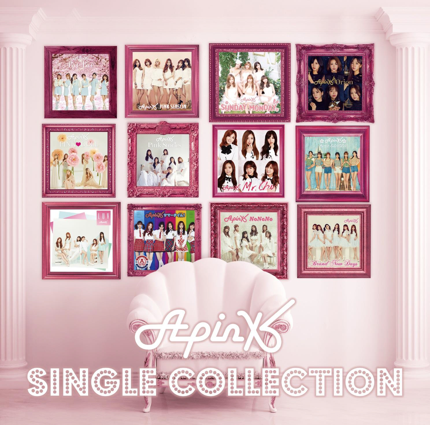 APINK SINGLE COLLECTION 日文精選