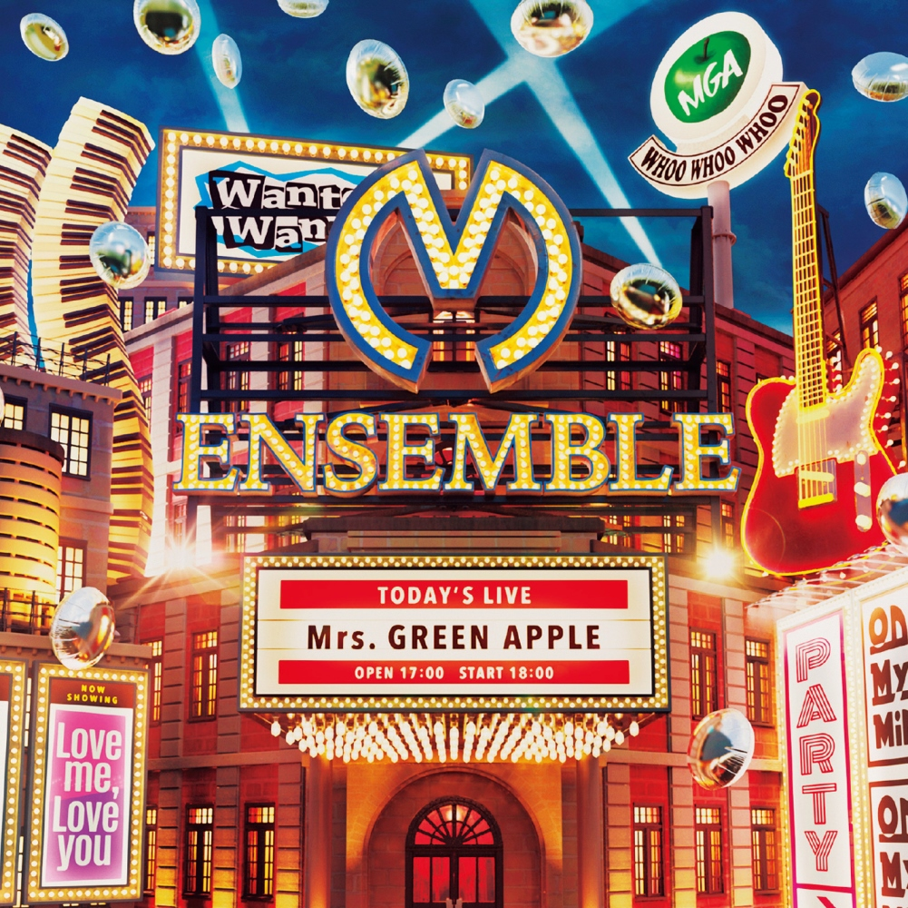 Mrs.GREEN APPLE-ENSEMBLE CD+DVD盤