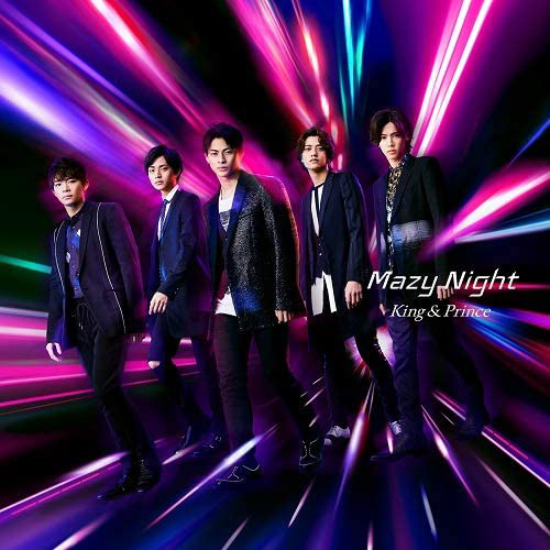 King & Prince-Mazy Night 初回盤A (CD+DVD)